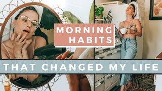 5 healthy morning habits that will change your life ✨ self care summer