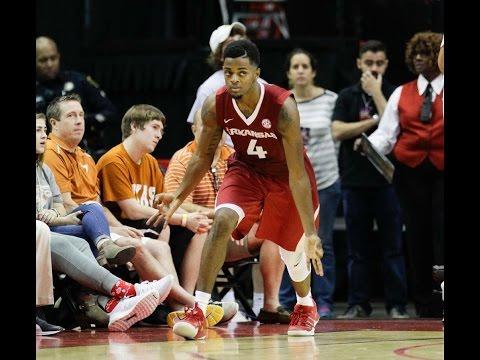 Daryl Macon 2016-17 Arkansas Highlights
