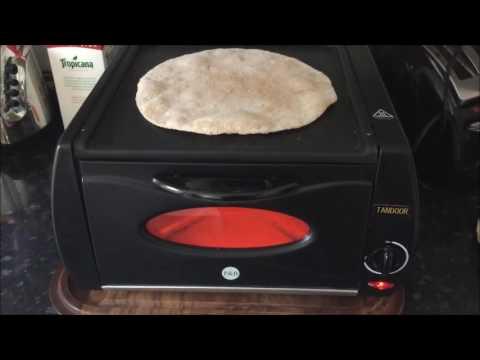 Mini table Top Tandoor (Lahmacun ,Naans & Chapati / Roti Maker, tandoori )