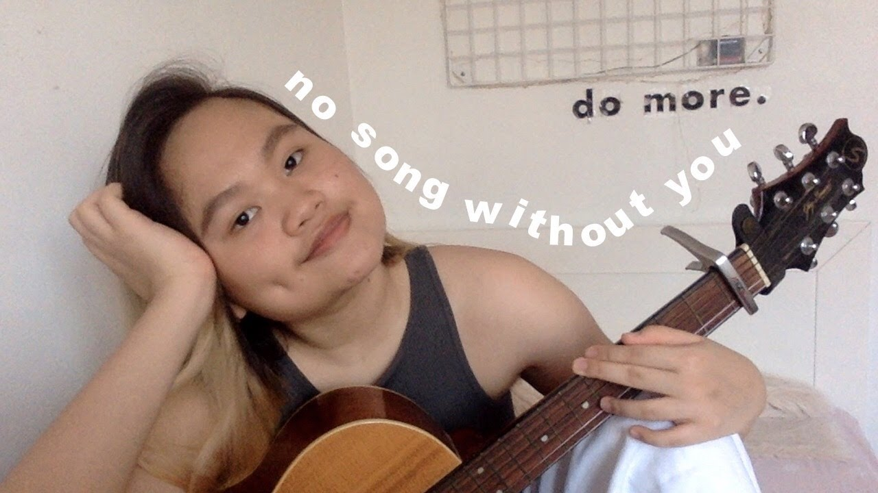 no song without you - HONNE (cover)