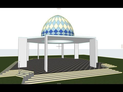ARCHICAD Dome : Kubah Enamel | Morph