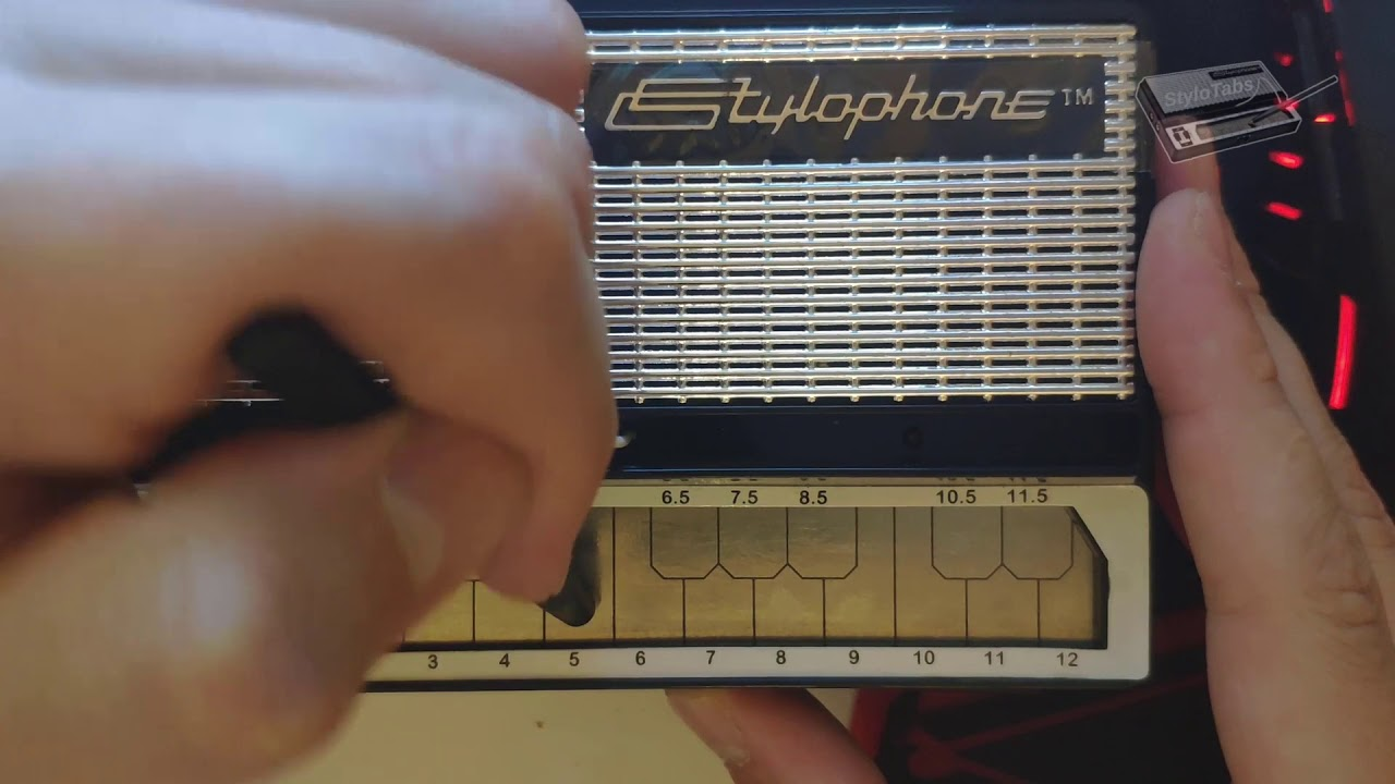 Stylophone Notes
