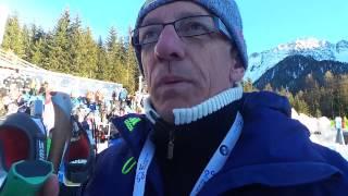 Юрай Санитра. Флеш-интервью после индивидуальной гонки в Антхольце. 20/01/2017