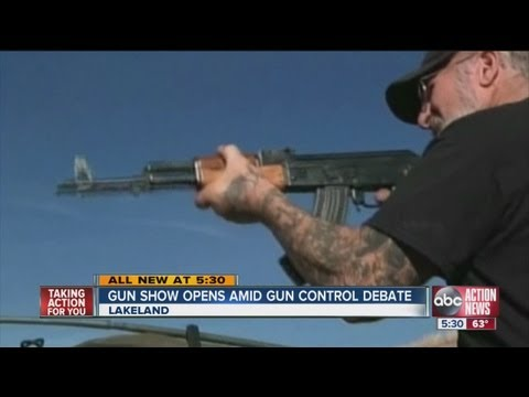 Florida's largest gun show to open in Tampa Bay area