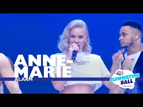 Anne-Marie - 'Alarm'  (Live At Capital's Summertime Ball 2017)