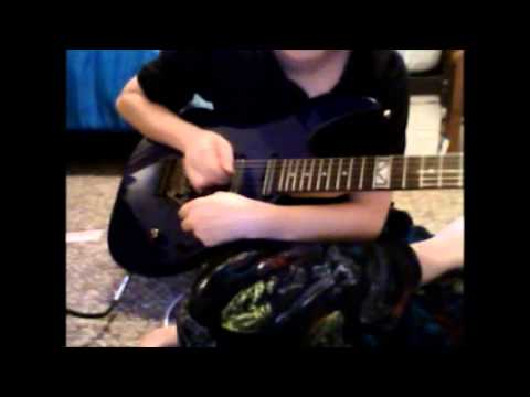 Joe Satriani whammy bar trick tutorial.