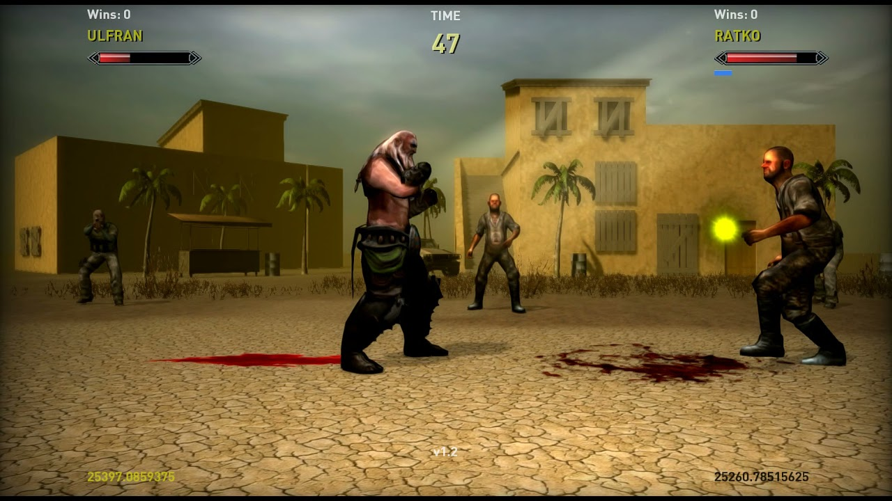 Game Guru Fighting Game Prototype (with Blocking)