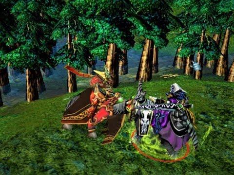Warcraft 3 Versus - Councilor (Blood Elf) Vs Death Knight (Undead) - Level 10 (Heroes)