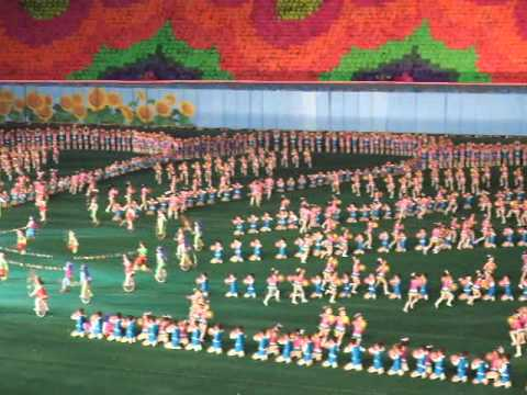 Arirang Mass Games (May Day Stadium) - Pyongyang - North Korea (DPRK)