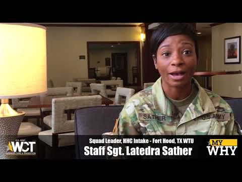 """""""My Why"""" - Staff Sgt. Latedra Sather"""