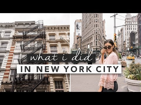 New York City! What I Did on My Mini Trip | by Erin Elizabeth