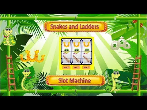Snakes and ladders gambling machine