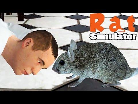 видео: ЗЛЫЕ ЛЮДИШКИ НЕ ДАЮТ ПОКУШАТЬ ► Rat Simulator