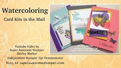 Watercoloring Kits in the Mail How to Video