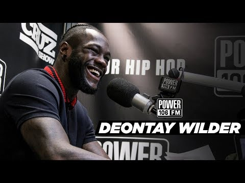 Deontay Wilder On Anthony Joshua Fight, 97% TKO Rate Why He Started Boxing, And More!