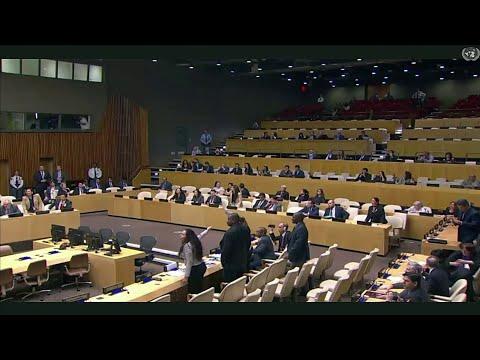 Cuban diplomats disrupt United Nations meeting