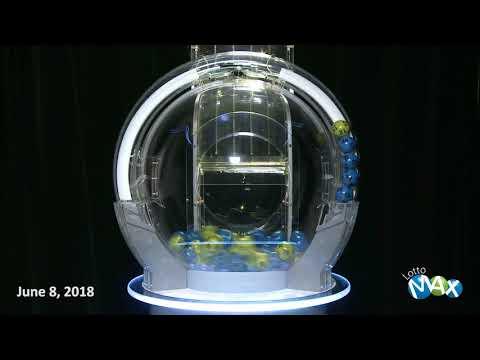 Lotto Max Draw June 8, 2018