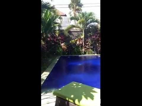 Auto spraying garden at villa MasBro (Bali)