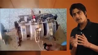 FREE ENERGY GENERATOR OF WASIF KAHLOON EXPLAINATION OF MAGNET GENERATOR PAKISTANI