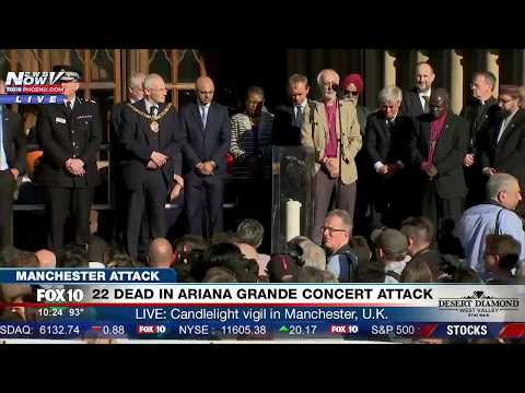 Thumbnail: EMOTIONAL MOMENT: Candle is Lit at Manchester Vigil Honoring the 22 People KILLED at Concert Attack