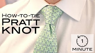 Video How to Tie a Tie - Pratt Knot (or Shelby) - Super Quick Lesson! download MP3, 3GP, MP4, WEBM, AVI, FLV Agustus 2018