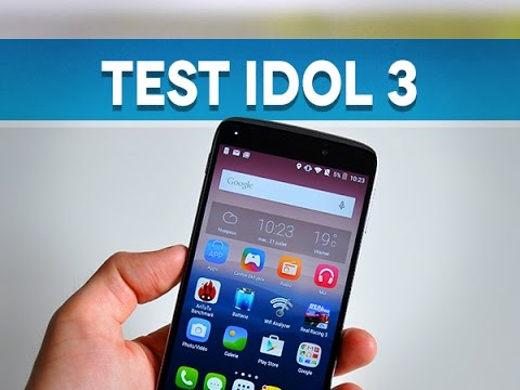 "Test Alcatel One Touch Idol 3 (5.5"") - Test Mobile"