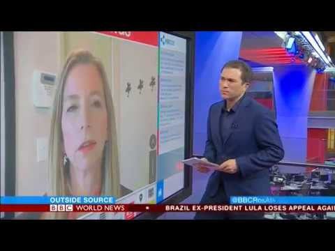 Katherine Schweit discusses recent US mass shooting matters with BBC's Ros Atkins
