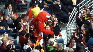 Repeat youtube video Benny The Bull attacks 12/06/14