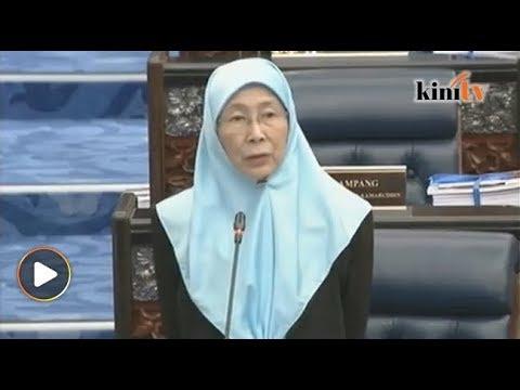Wan Azizah persoal gaji KP JASA lebih dari menteri Mp3