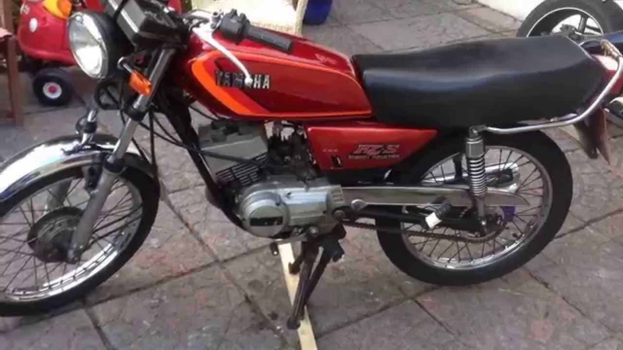 Yamaha RXS 100cc Two Stroke  Gem of a bike :) (Vlog45)