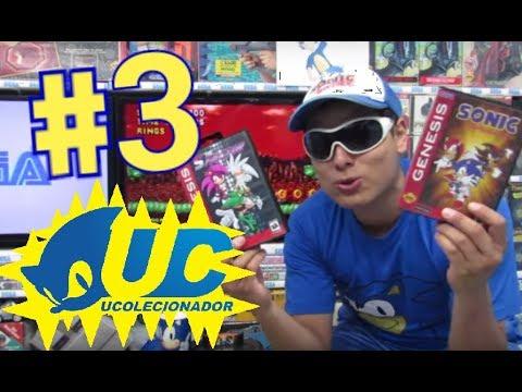 3# Sonic´s HACKER´S do UColecionador Mega Drive !