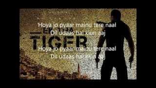 Ek tha tiger-Pyar Hoya (LYRICS)