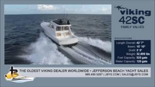 Viking 42 SC   Jefferson Beach Yacht Sales