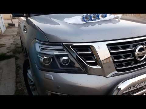 Nissan patrol и bi led линзы Optima