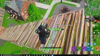 Moving Target 209 meter snipe in a REAL game of Fortnite