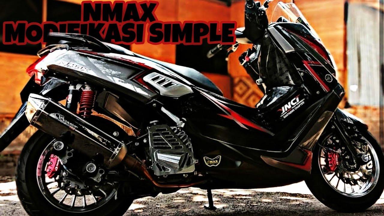 Modifikasi Yamaha Nmax Simple Terbaru