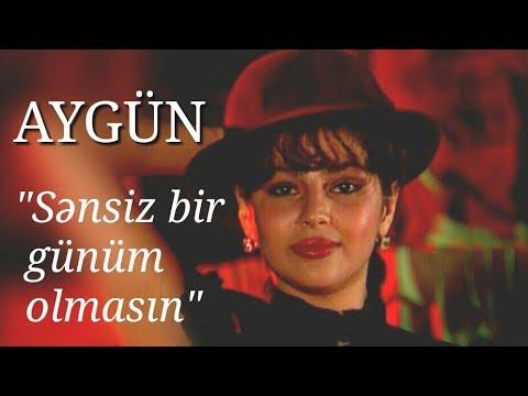 Aygün Kazımova - Sənsiz bir günüm olmasın (Official Music Video)