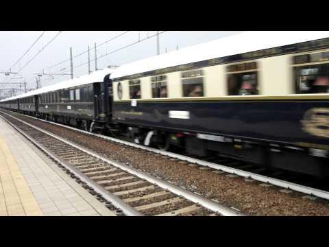 Uno splendido Orient Express in transito per Venezia Santa Lucia!!