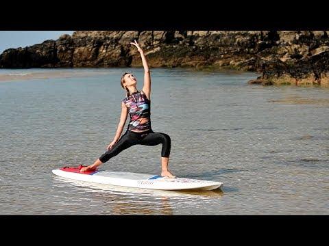 Tutos SUP Oxbow - Apprendre le SUP Yoga : positions et équilibre