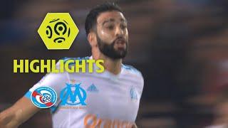 RC Strasbourg Alsace - Olympique de Marseille (3-3) - Highlights - (RCSA - OM) / 2017-18