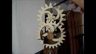 Steampunk Clock Prototype Runs.wmv