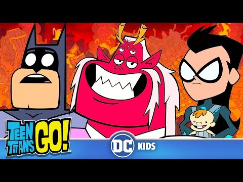 Teen Titans Go! | It's Father's Day! | DC Kids
