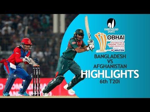 Highlights | Bangladesh Vs Afghanistan | 6th T20 | Bangladesh Tri-Series 2019