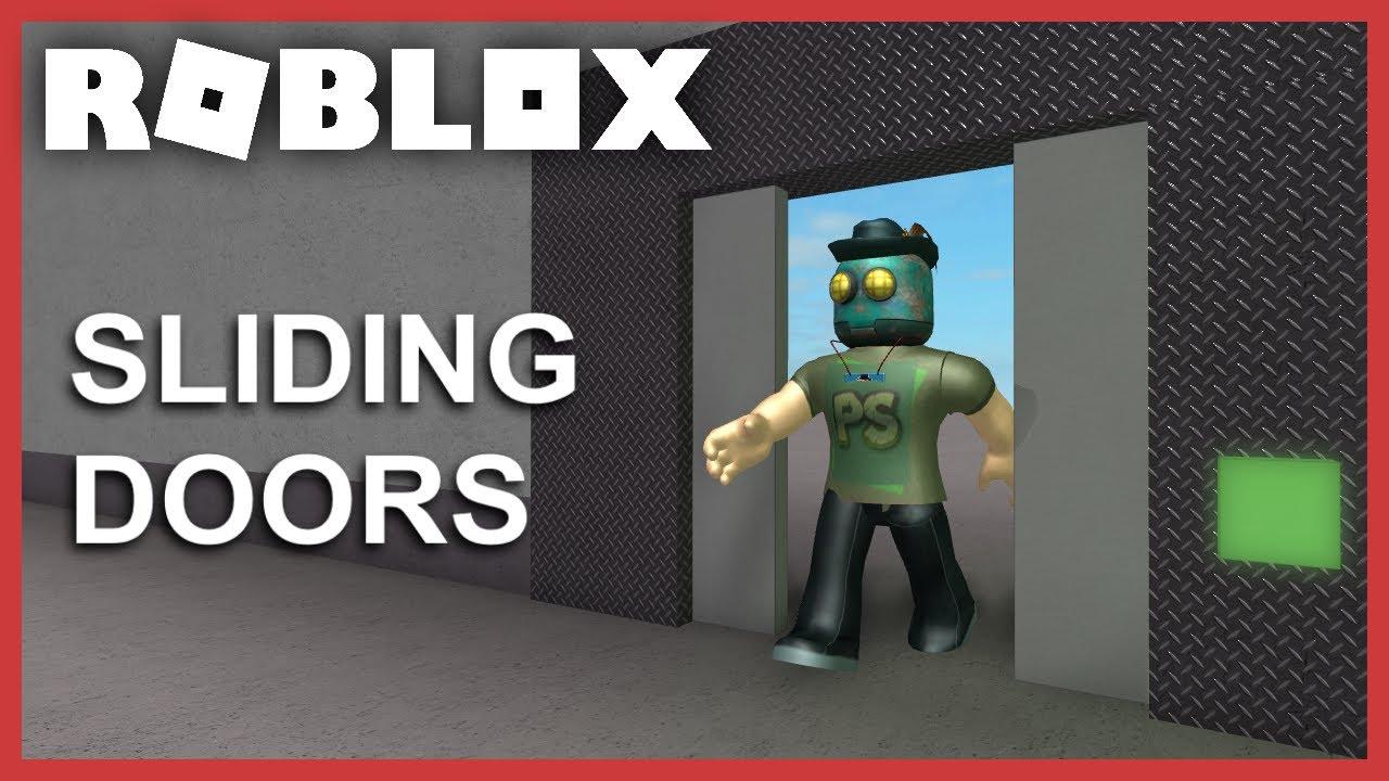 Roblox Tutorial Sliding Doors Youtube