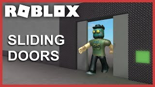 [ROBLOX Tutorial] - Sliding Doors