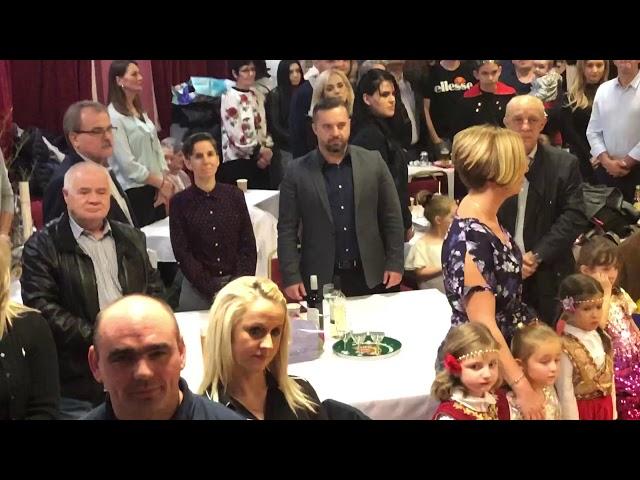 Intoniranje himne Bosne i Hercegovine u Birminghamu 30.11.2019