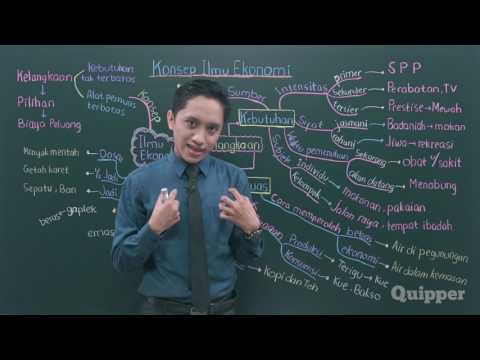 Quipper Video - Konsep Ilmu Ekonomi Bagian 1 - Ekonomi