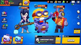 EPIC NEW BRAWLER CARL ET NEW MODE DE JEU SIEGE GAMEPLAY sur BRAWL STARS (Update) !