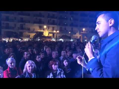 Luigi Di Maio - Giancarlo Cancelleri - Augusta #SceglieteIlFuturo tour