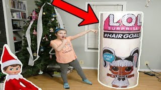 Huge LOL Surprise Hair Goals From My On The Shelf!  Elf Brings the Doll Maker Back!!